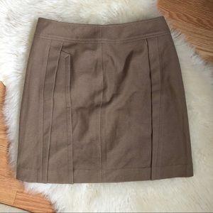 Vintage Camel/Tan High Waisted Knit Skirt